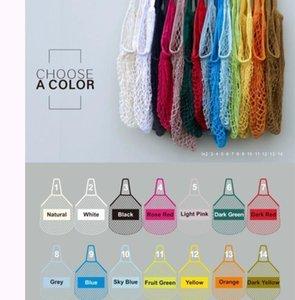 Shopping Bags Handbags Shopper Tote Mesh Net Woven Cotton Bags String Reusable Fruit Storage Bags Handbag Reusable jllYjd bdesybag