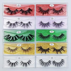 10 styles Eyelashes Wholesale false Lashes Natural False Eyelashes Long Set faux cils Bulk Makeup wholesale lashes different style