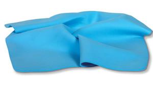 2021 Wholesale 100pcs 30X20CM Natural PVA Facial Towel Cleaning Sponge Puffs Pads Face Makeup cosmetic towel Facial Cloth PVA Cool Towel