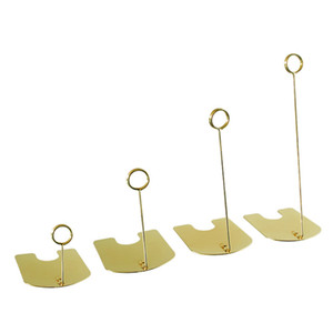 Label Card Display Clips Metal Price Tag Paper Sign Holders Stand For Stores Promotions Storage Holders