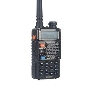UV-5RB baofeng walkie taklie VHF UHF dual band FM Portable FM two way radio with earpiece