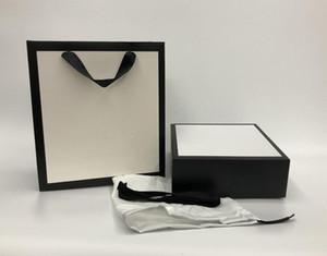 도매 최고의 가격 고품질 브랜드 디자이너 럭셔리 유명한 패션 허리 벨트 특별 상자, 종이 가방 리본