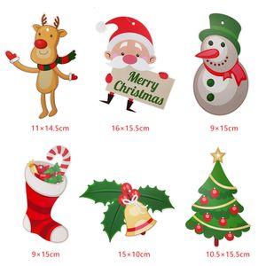 Santa Hanging Swirl Ornament Papier Spirale Decke Dekoration Weihnachten Neujahr Party Favors