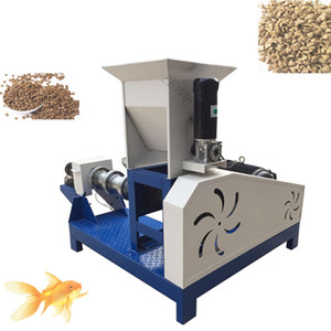 Precio al por mayor Barato Hogar Electric Puffed Fish Shrimp Bullfrog Cangrejo Feed Feed Extruser / Floating Fish Feed Pellet Pellet Machine
