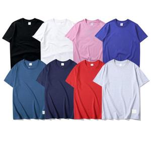 2021 Summer Mens Designer Designer magliette Lettere di alta qualità T-shirt da ricamo per uomo Donna Moda Top Tees Camicie uomo vestiti taglia S-2XL