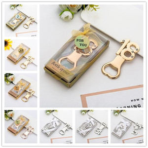 Creative Number Bottle Opener Shower Party Favor With Gift Box Packaging Wedding Gift Beer Wine Bottle Opener Kitched Accessories Bar Tools