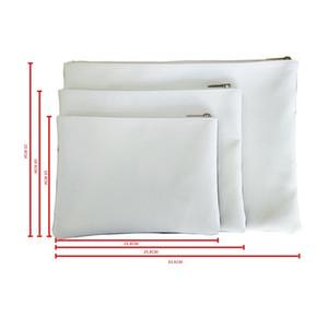 Sublimação Blanks carteira DIY Bolsa Zipper sacos de armazenamento Branco Pequenas Womens Mens Carteiras Originalidade portátil 8 5JY M2