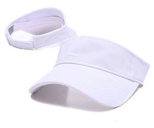 Letter Empty Top Cap Casual Summer Visor Sun mens designers Hat Sports women Golf Tennis Outdoor Beach Headband Snapback Baseball Hats gorr