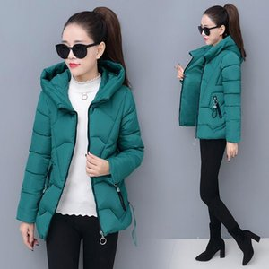 2020 Winter Jacket Women Coats Hooded Jackets Parkas Thick Warm Cotton Padded Female Loose Short Coat Outwear Plus size 4XL P820