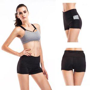 Hot sale Yoga shorts Sports Clothes Women Sporting running shorts Fitness yoga short Running Fitness pantalones mujer #s1