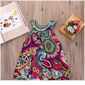Girls Dress New Toddler Baby Flower Dress Girls Mini Princess Dress Wedding Party Kids Tu sqczhh