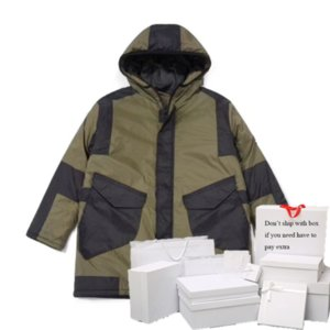 Parkas Men & Women Down Jackets Epaulet Autumn Winter Outerwear Womens Streetwear Coats Hooded Letter Pattern Mens Tops Hot Sale