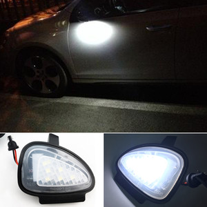 1 Pair Canbus Led Under Side Mirror Puddle Light Module For VW Golf MK6 6 MKVI C45 Cabriolet White Led Lamp