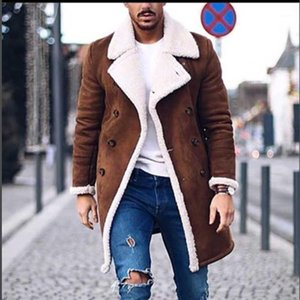 New Men's Wool Jacke Blends Suit Design Warm Coat Men Casual Trench Coat Design Slim Fit Office Suit Jackets Overcoat1