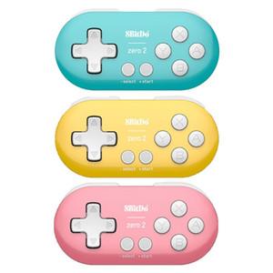 8BitDo 제로 2 블루투스 무선 게임 패드 게임 컨트롤러의 경우 N-intendo 스위치 라즈베리 PI 승 맥 OS 게임 패드 조이스틱 스팀