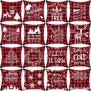 Christmas tree Christmas tree pillow case snowflake pillow pattern Christmas salon sofa decorative pillow