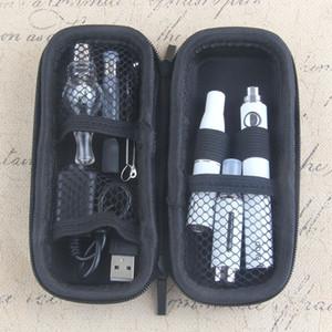 Original UGO 4 in 1 eGo Vape Pen Starter Kit Wax Dry Herbal Vaporizer Mini Case Kit 900 1100mAh USB Passthrough EVOD Battery