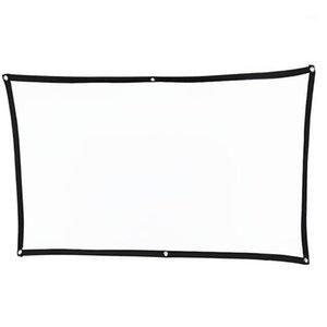 Thinyou простое мягкое портативное проектор экран складной открытый 60 дюймов 72 дюйма 84 100 120 16:91