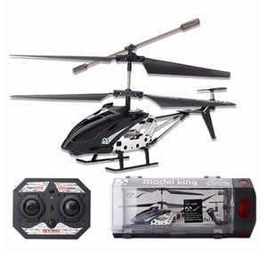 RC Helicopter 3.5 Channel Drop-resistant Alloy Mini RC Helicopter Plane Mode Toy Plastic Box Packagin