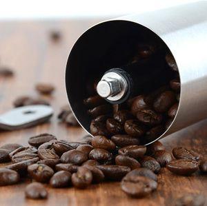 Portable Coffee Grinder in acciaio inox Mini manuale a mano chicco di caffè Mill Cucina strumento Crocus Grinders DWD2389
