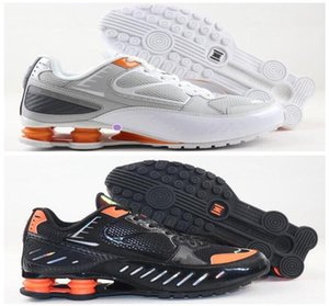 2020 newest fashion Top Quality shox tl Mens Running Shoes Breathable Sneakers Black White outdoor walking sports chaussures r4 Trainers