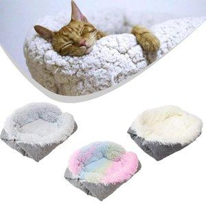 Hot Pet Products Rest schlafende Plüschkissen komfortable dualzwecknest weiche Katze und Hundedecke Plüsch Haustier Bett