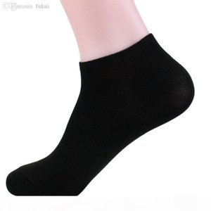 Wholesale-Mens Low Cut Athletic Ankle Sport Ankle Quarter Crew Socks Black White Gray