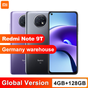 Versão Global Xiaomi Redmi Nota 9T 5G 4GB 128GB Dimensividade do Smartphone 800U NFC 5000mAh 48MP Camera