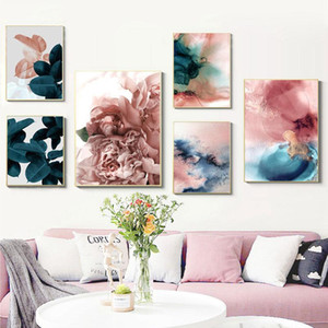 Paintings Wall Art Leaf Cuadros Picture Nordic Poster Floral Canvas Painting Botanical Posters And Prints Pictures For Living Room1