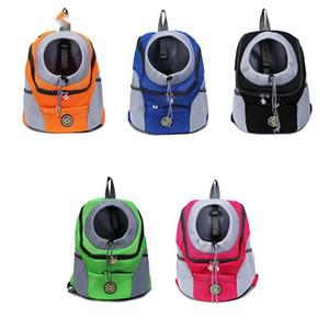 New Outdoor Pet Dog Transport Bag Front Bag Mesh Backpack Shoulder Portable Travel Cat   Small Dog Solid Unisex Air Cushion Belt