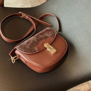 Female Suede Leather Purse adjustable strap shoulder bags hasp flap saddle handbags crossbody bags for lady