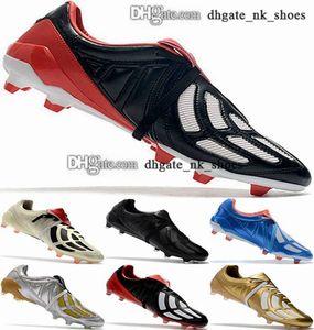 12 Predator Mania Boyutu ABD Ayakkabı 46 Futbol Cleats Crampons De EUR AG FG Enfant Kadın Erkek Futbol Çizmeler Erkekler 38 Büyük Çocuk Erkek Calcio Klasik