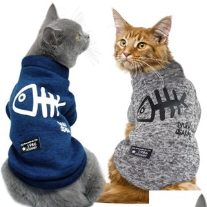 cute cat clothing winter pet puppy dog clothes hoodies for small medium dogs cats kitten kitty outfits cat coats jacket costumes YMBK8
