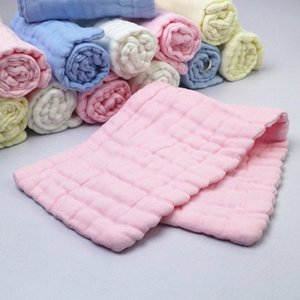 12-layer Baby Cotton Diapers Washed Gauze Handkerchief Baby Nappy Breathable Cotton Dedicated Diapers g7nY#