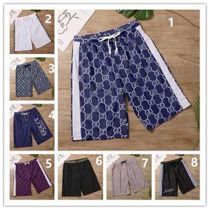 46 Stile marea Nuoto Pantaloncini Vintage Printed Beachwear per Moda Donna Uomo casuali respirabili Street Beach Pants