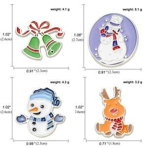 Новый мультфильм Снежинка Elk Рождество серия броши студент ювелирных мило брошь аксессуары Рождество милый смешной освобождает перевозку груза GWF2357