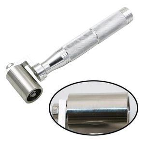 DRELD 1PC 34MM / 40MM بكرة الفولاذ المقاوم للصدأ شقة الضغط خلفية تطبيق أداة اليد مع تحمل الفضة