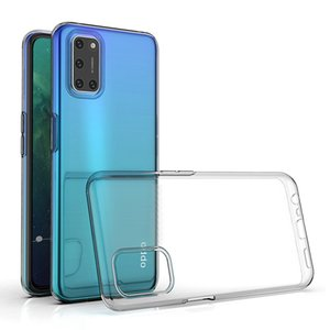 Ultrathin Clear Soft TPU Case for OPPO A52 A72 A92 A92S 2020 5G Mobile Phone Back Cover 360 Transparent Shockproof Shell Housing