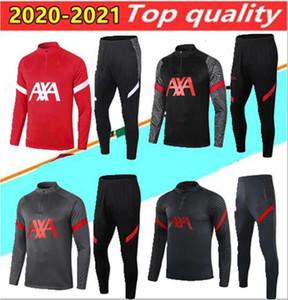 2020 Fußball-Trainingsanzug Erwachsenen- Kleidung Hülse kurze Ärmel fooall Anzug Jogging chandal futbol