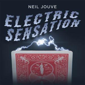 Electric Sensation by Neil Jouve (Gimmick+teaching) Card Magic Tricks Illusion Magia Profesional Escenario Nuevos 1020