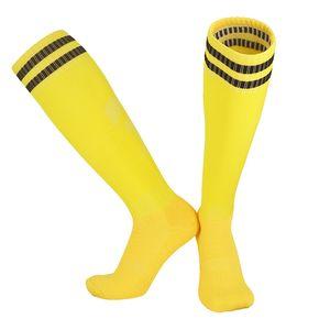 Soccer Socks Male Barrel Adult Thick Towel Bottom Athletic Socks Breathable Non-Slip Socks Knee Soccer