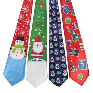 El diseñador de personajes de moda corbatas Festival de Helloween lazo suave JEMYGINS Llegada de nuevo lazo de Navidad 9.5cm estilo de los hombres de la corbata