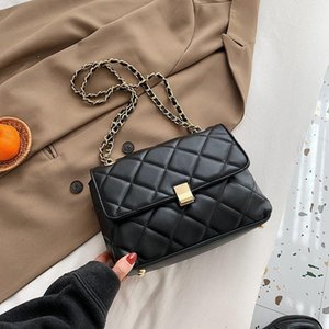 New Color Designer Crossbody Messenger Luxury Bags 2020 For Bag Single Shoulder Cc Flap Bags Ladies Solid Lattice Women Fashion Halsu