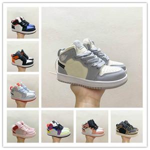 Bebé infantil criança criança jumpman 1 alta og sapatos de basquete designer toddler cestas enfants sneakers treinadores