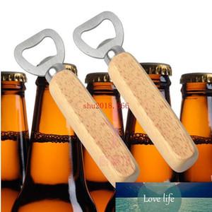 Free Shipping 100PCS Personalized Wood Beer Bottle Opener   Custom Print and Monogrammed   Wedding Groomsmen Gift
