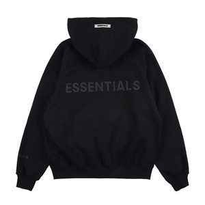 2021 indumenti con cappuccio Essenziale Men's Essentials Popular European Maschio Giacca Maschile Brand Hip Hop Streets con cappuccio Top W67R
