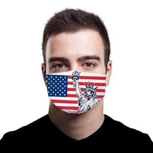 Fa 1pcs Masks Flag Pat Anti Dust Repla able Cloth Luxury With 3D Washable Cotton Filter PM2.5 Reusable Masks Designer Mask Fa 1pcs Ma Vdoh