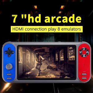 RS-17 Retro Classic Handheld Game Console schermo HD da 7.0 pollici Scheda di espansione 8GB giocatore del gioco di TF di sostegno e 8 simulatori in grado di memorizzare 3000 gioco