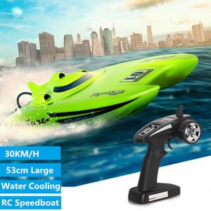 Rc di alta qualità del guscio Hydro Barca Barche Rtr alta velocità elettrico RC barca di corsa a 30 km / h giocattolo giochi all'aperto impermeabile RC Speedbodt bambino