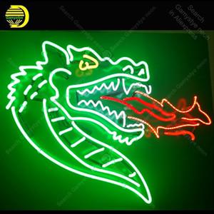 Néon signes dragon de feu respiration signe néon ampoules affichage restaurant lampe néon Artesanat Letrero Néons Lumine enseigne